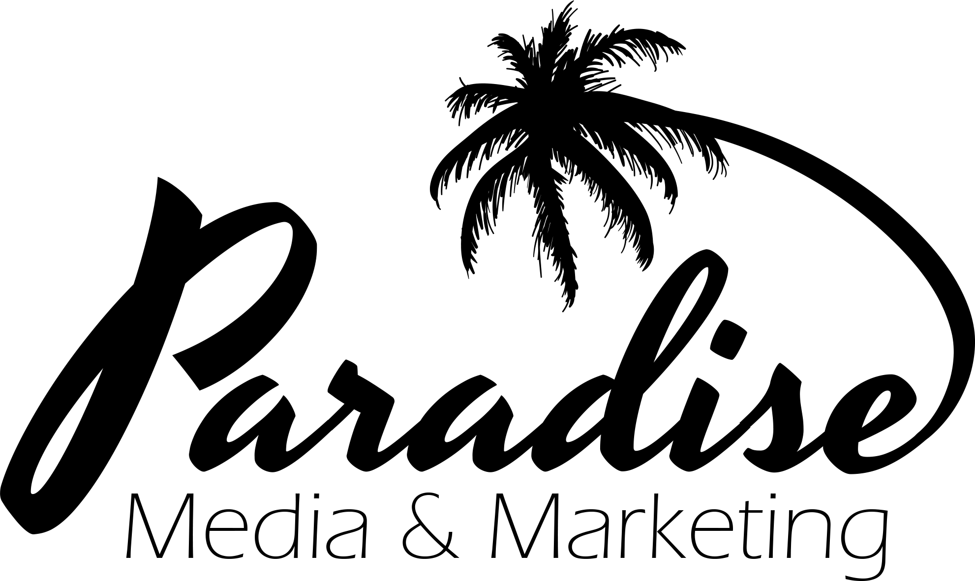 Paradise Media & Marketing Logo