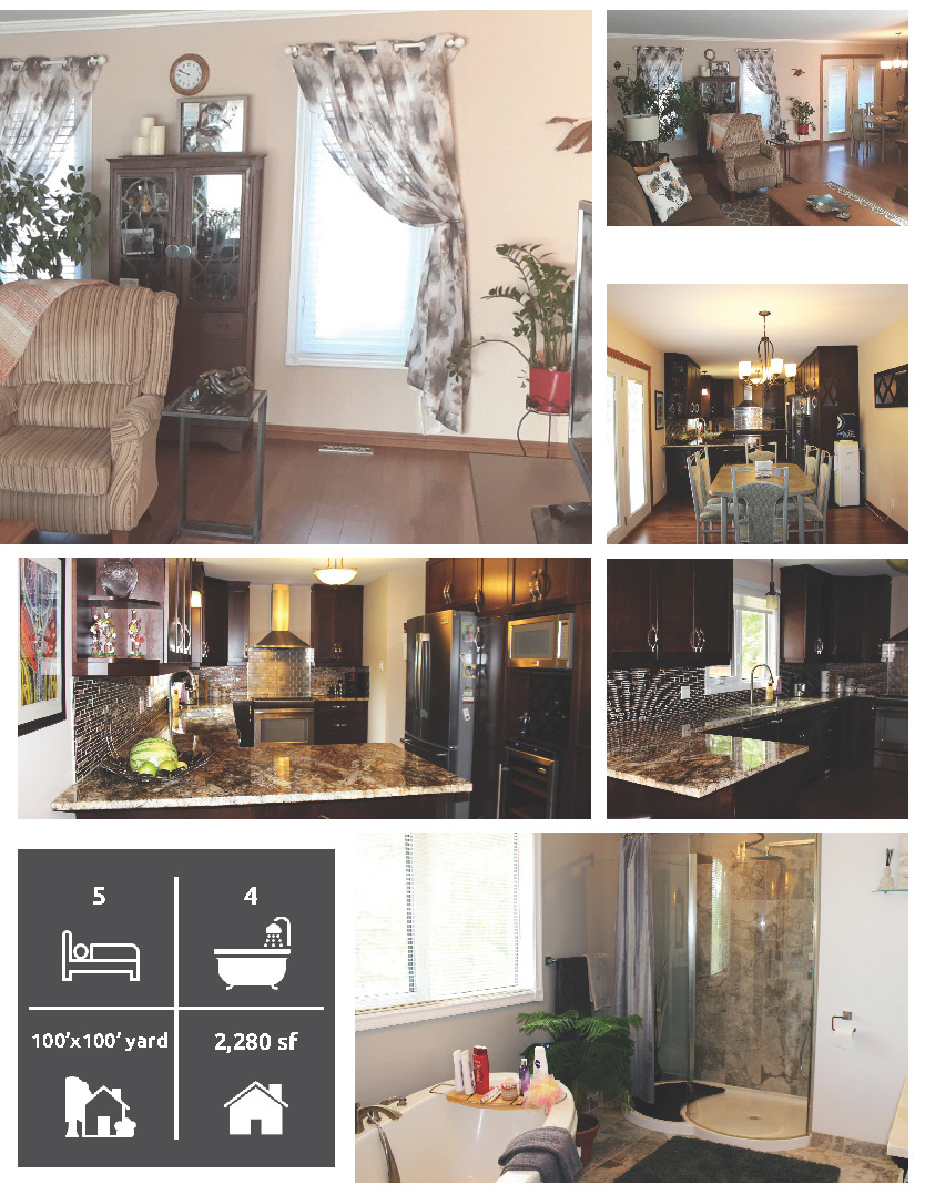 Real estate flyer design in Winnipeg